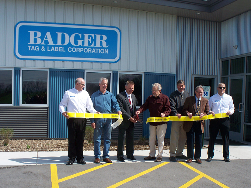 Badger Way Ribbon Cutting Slider Image